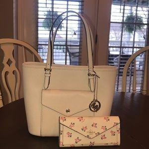 Micheal Kors purse and Coach floral wallet bundle